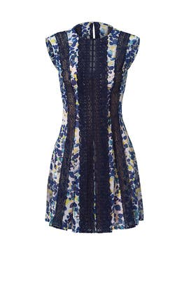 Blue Floral Jalena Dress by BCBGMAXAZRIA