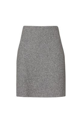 Speckled Wool Easy Waist Skirt by Theory