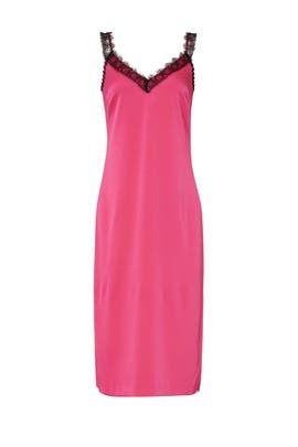 Pink Crepe Back Satin Dress by Jason Wu