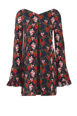Strawberry Nora Dress by Mother of Pearl