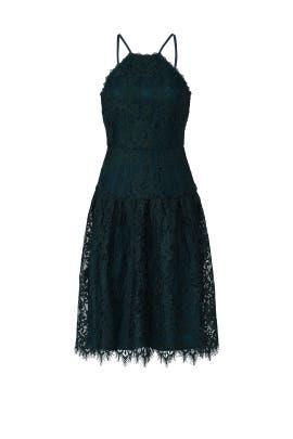 Green Broadway Dress by Trina Turk