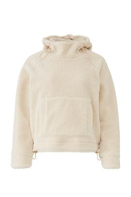 Cozy Faux Sherpa Hoodie by VINCE.