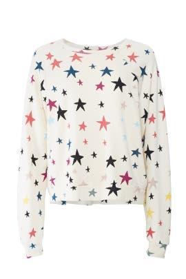 Stars Raglan Sweatshirt by MONROW