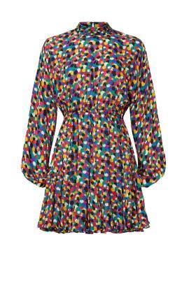 Confetti Print Caroline Dress by RHODE