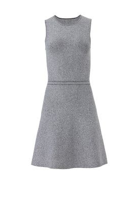 Marl Flare Dress by Theory