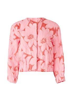 Pink Floral Jacket by Tara Jarmon