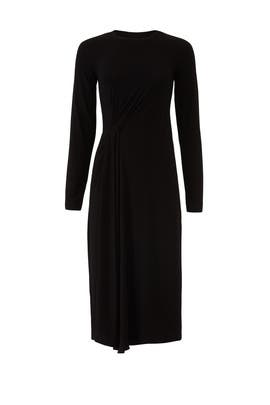 Side Drape Dress by VINCE.