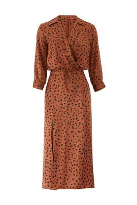 Wild Cat Midi Dress by Bec & Bridge