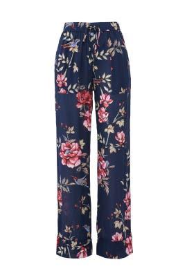 Floral Daltona Pants by Joie