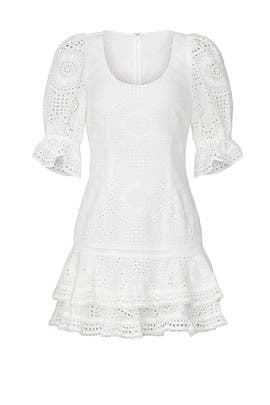 Meg Puff Sleeve Mini Dress by Jonathan Simkhai