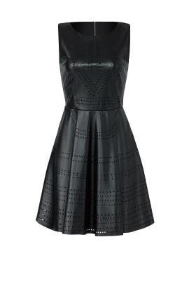 Laser Cut Dress by Lavand.