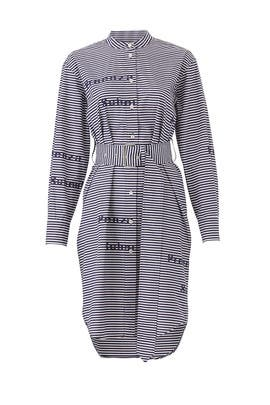 Graphic Button Down Dress by Proenza Schouler White Label