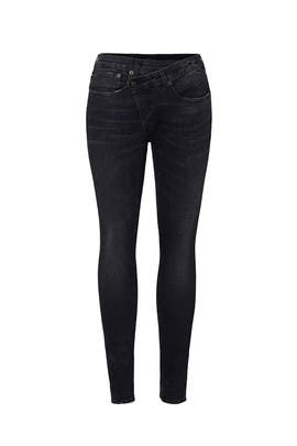 Crossover Skinny Jeans by R13