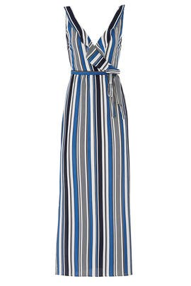 Blue Striped Maxi by Slate & Willow