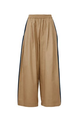Tan Karate Pants by Tome