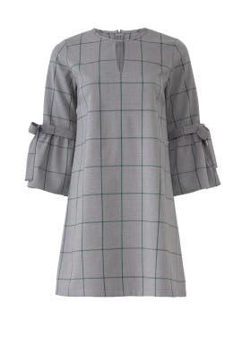 Tie Sleeve Plaid Shift by Waverly Grey