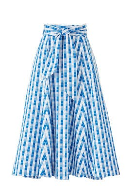 Gingham Imari Skirt by Alexis
