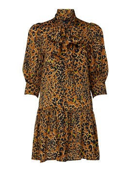 Leopard Keely Dress by Hunter Bell