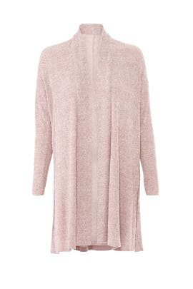 Heather Fig Knit Cardigan by Josie Natori