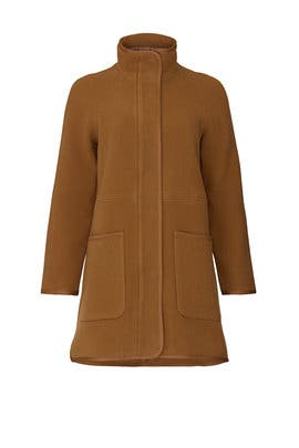 Camel Estate Cocoon Coat by Madewell