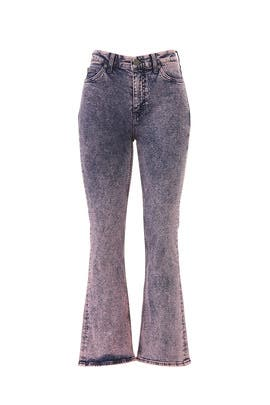 Marty Acid Pink Flare Jeans by M.i.h. Jeans
