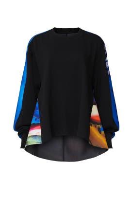 Graphic Back Sweatshirt by Maison Margiela