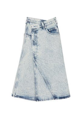 Washing Denim Skirt by Proenza Schouler
