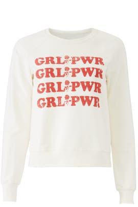 Grl Pwr Graphic Sweatshirt by Rebecca Minkoff