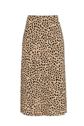 Leopard Everyday Midi Skirt by Sanctuary