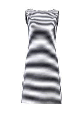 Navy Stripe Dress by Theory