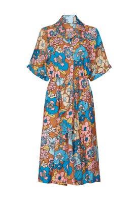 Printed Nancy Dress by Dodo Bar Or