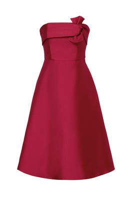 Red Bow Katie Dress by ERIN erin fetherston