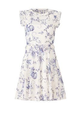 Monkey Print Dress by RED Valentino