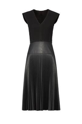 Vintage Faux Leather Dress by Rebecca Taylor