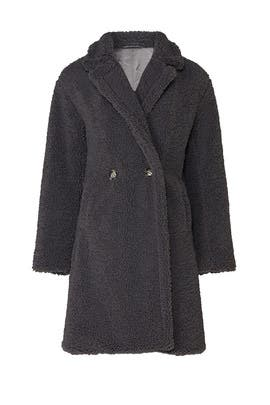 Anouck Faux Shearling Coat by Apparis