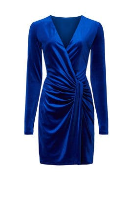 Abina Velvet Dress by Black Halo