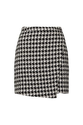 Houndstooth Mini Skirt by Louna
