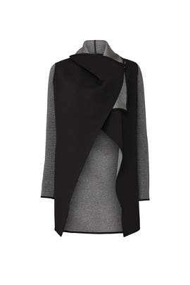 Dusk Wrap Jacket by MICHI