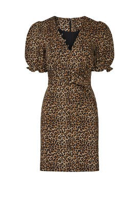 Brown Leopard Dress by Marissa Webb Collective