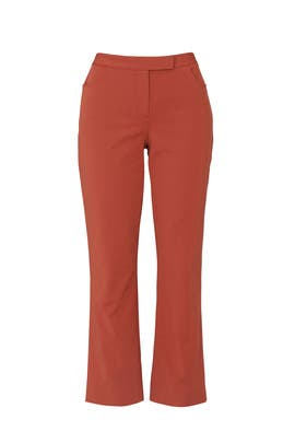 Stretch Cropped Pants by Theory