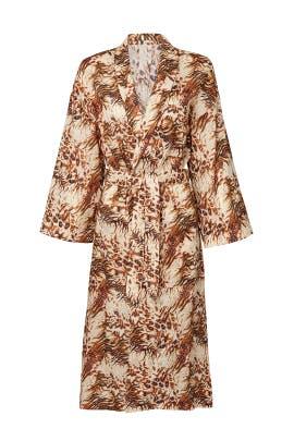 Printed Kimono Jacket by Nanushka