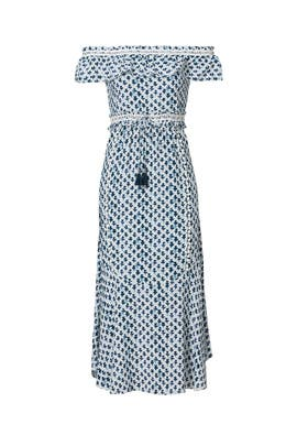 Blue Juliette Maxi Dress by Saylor