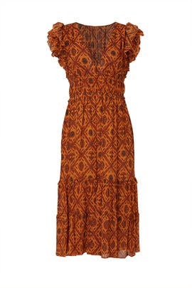 Printed Anika Dress by Ulla Johnson