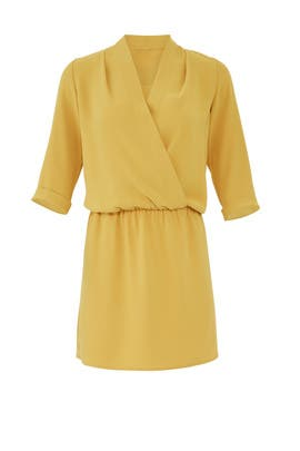 Mustard Venus Dress by Amanda Uprichard