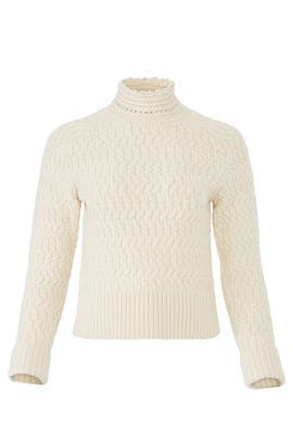 Ivory Dyer Sweater by DREYDEN