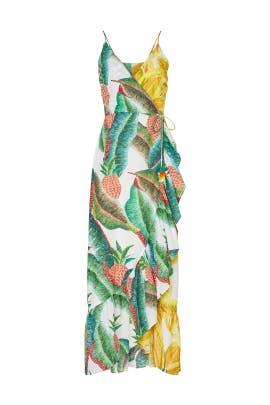 Azalea Forest Wrap Dress by FARM Rio