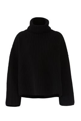Crop Poncho Sweater by JOSEPH