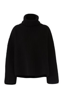 Crop Poncho Sweater by JOSEPH