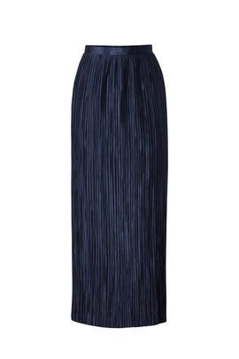 Plisse Pleated Skirt by Tibi