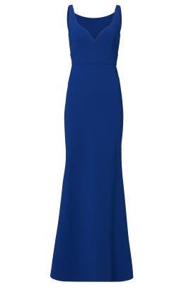 Sapphire Sweetheart Gown by Jill Jill Stuart
